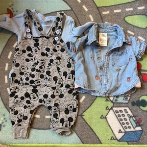 3 month Disney clothes baby lot